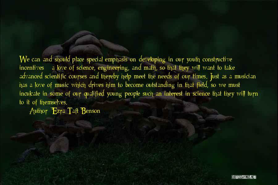 We Should Meet Quotes By Ezra Taft Benson