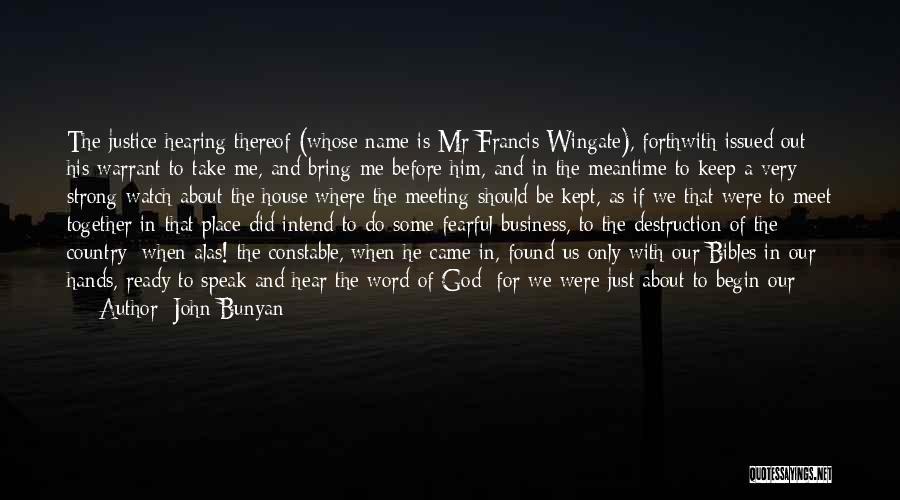 We Should Meet Quotes By John Bunyan