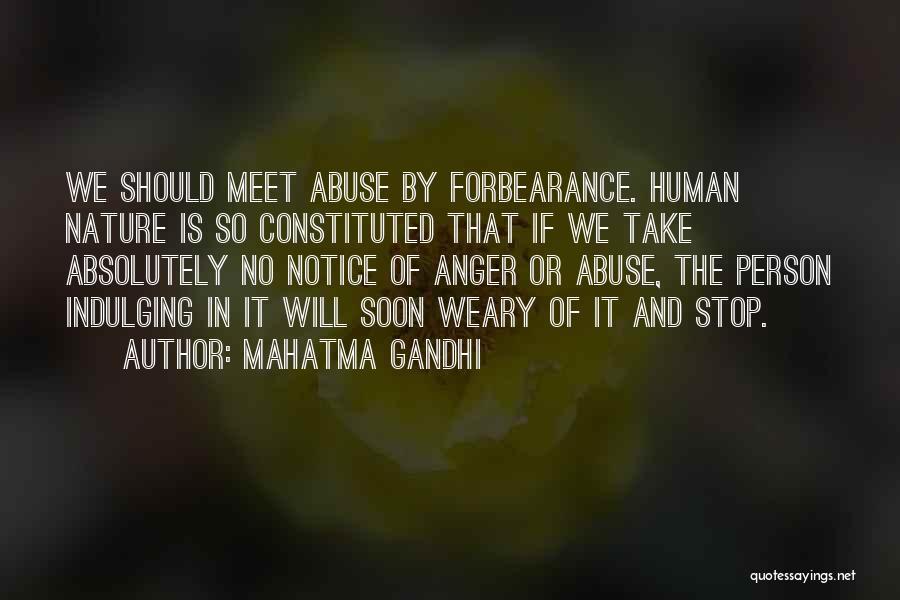We Should Meet Quotes By Mahatma Gandhi