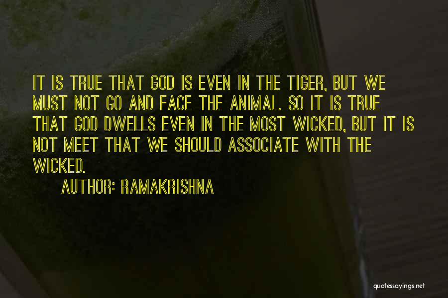 We Should Meet Quotes By Ramakrishna