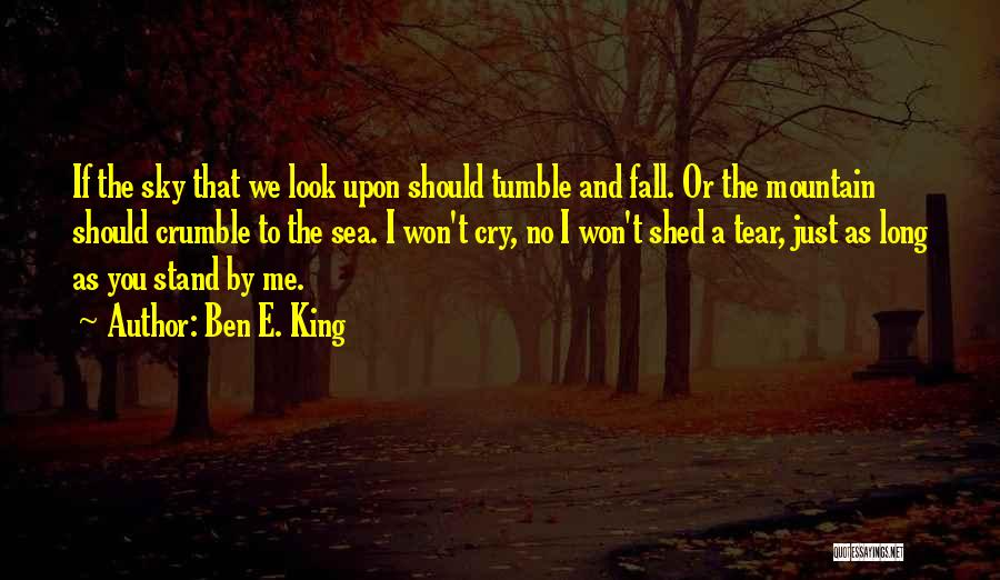 We Stand By You Quotes By Ben E. King