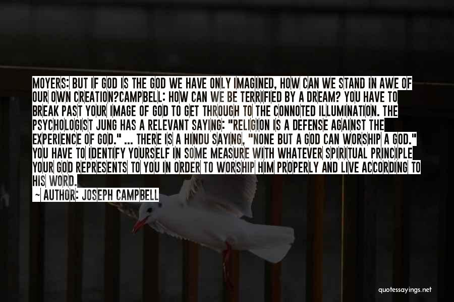 We Stand By You Quotes By Joseph Campbell