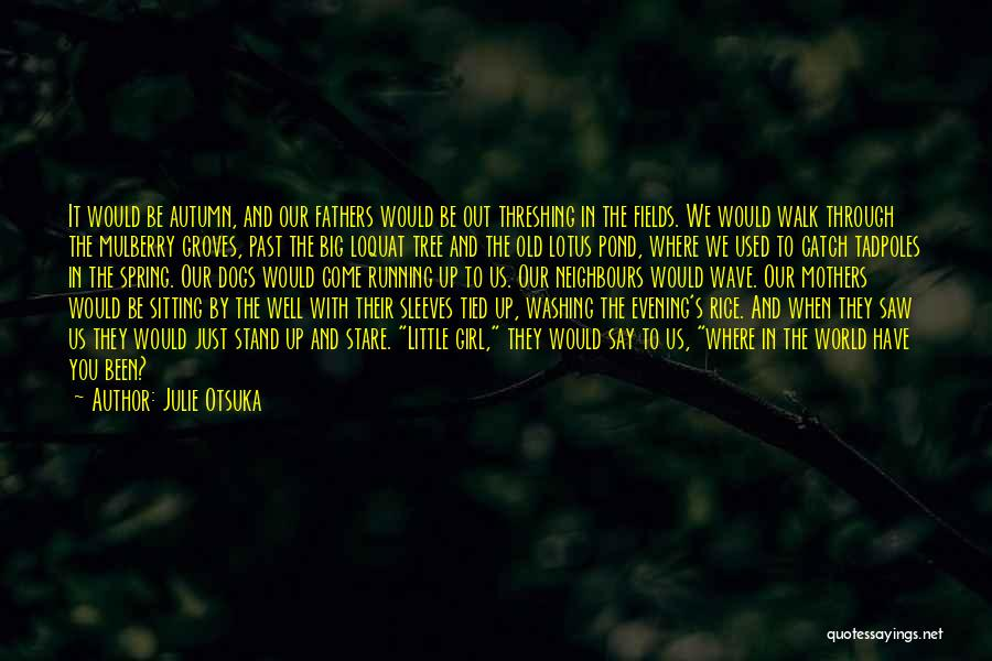 We Stand By You Quotes By Julie Otsuka