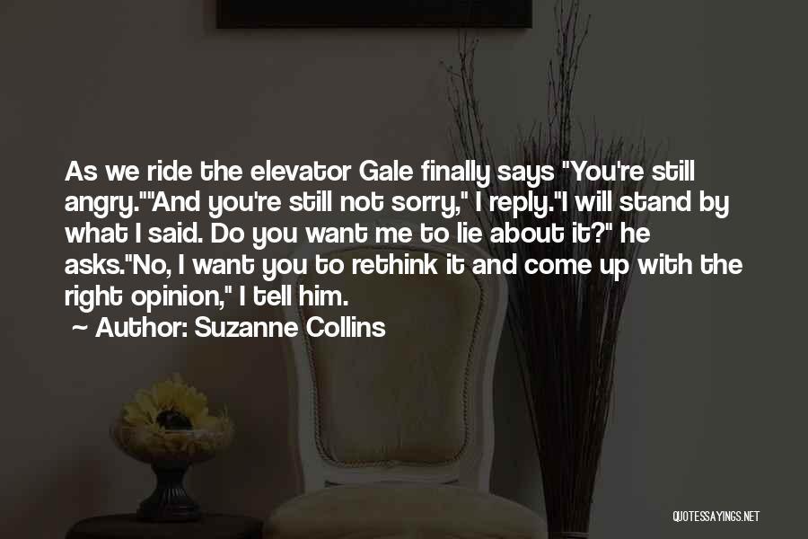 We Stand By You Quotes By Suzanne Collins