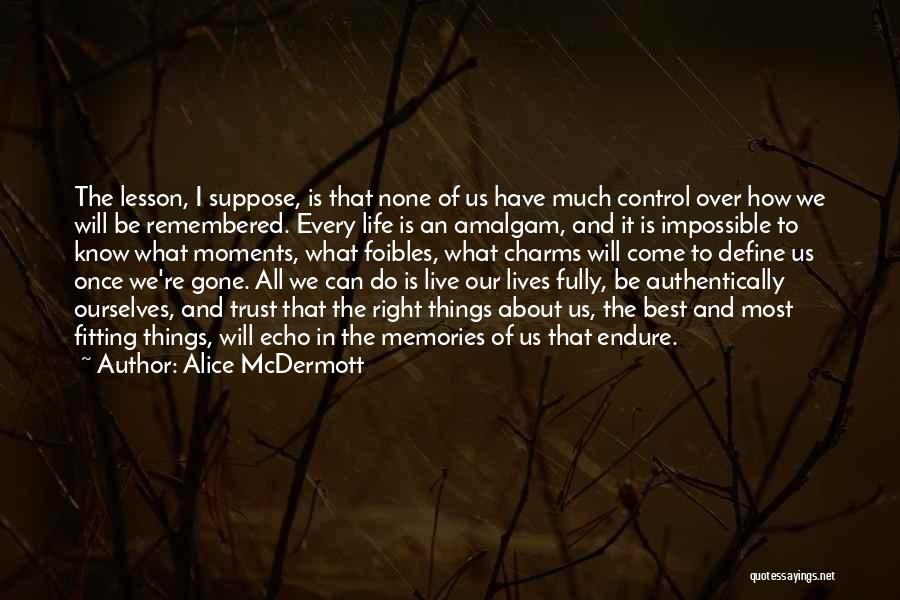 We Will Do Our Best Quotes By Alice McDermott