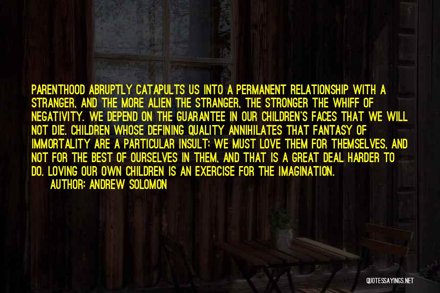We Will Do Our Best Quotes By Andrew Solomon