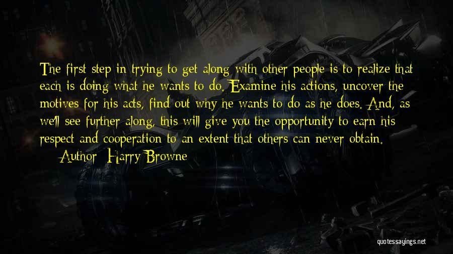We Will Find Each Other Quotes By Harry Browne