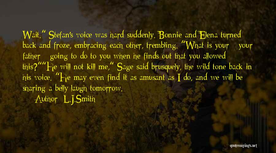 We Will Find Each Other Quotes By L.J.Smith