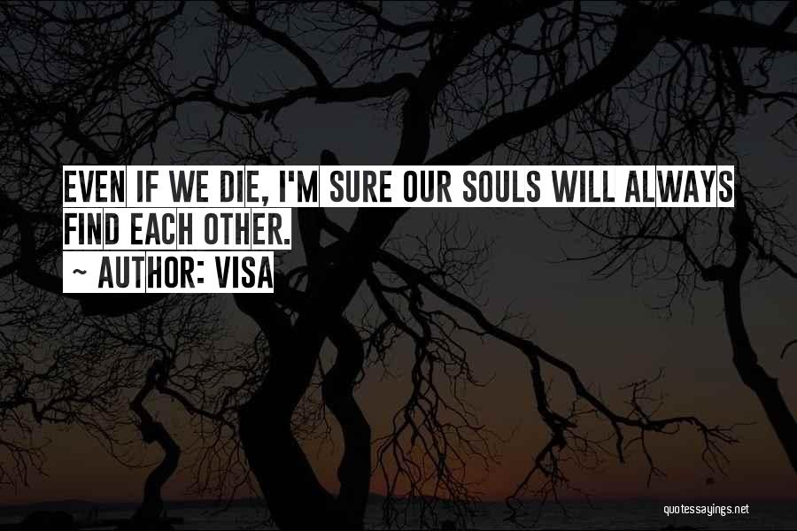 We Will Find Each Other Quotes By Visa