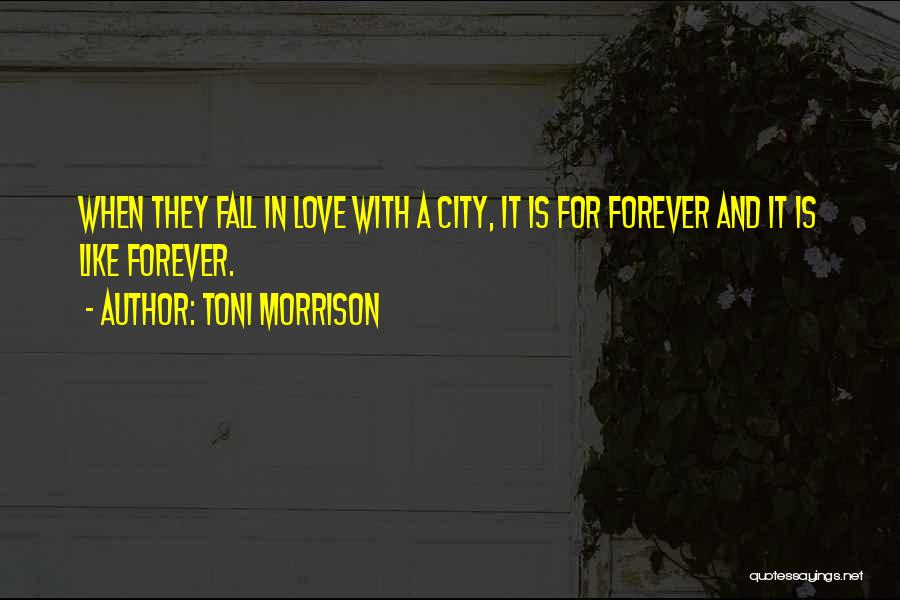 We Will Love Each Other Forever Quotes By Toni Morrison