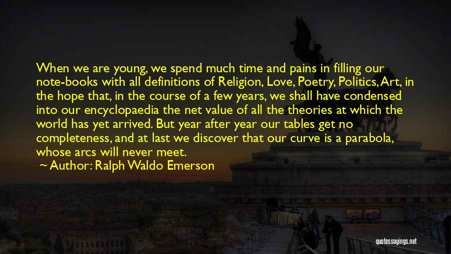 We Will Never Meet Quotes By Ralph Waldo Emerson