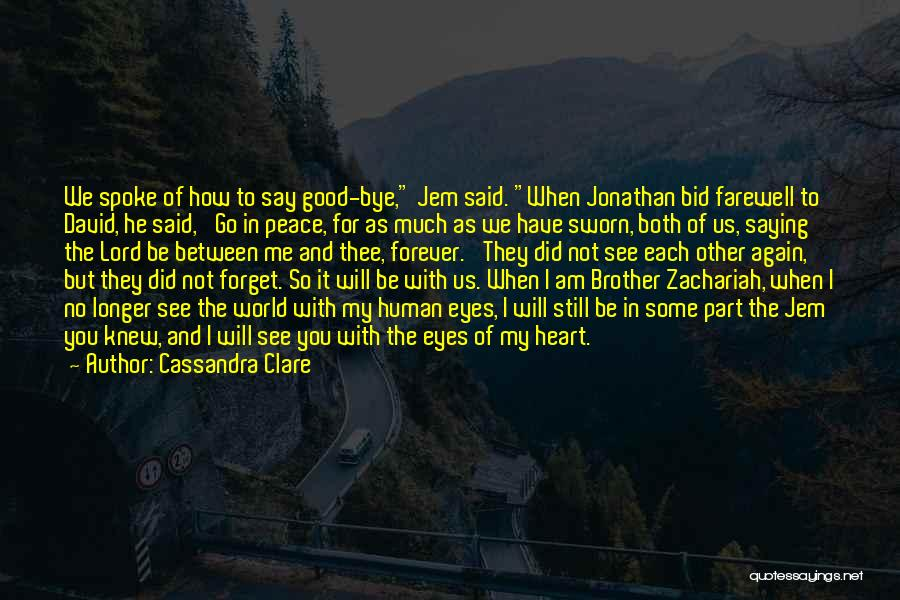 We Will See Again Quotes By Cassandra Clare