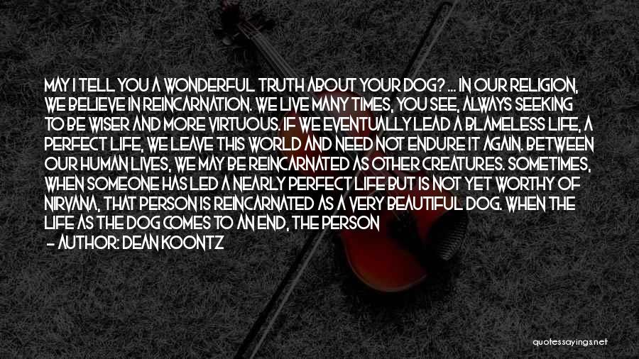 We Will See Again Quotes By Dean Koontz