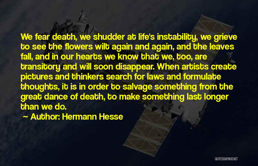 We Will See Again Quotes By Hermann Hesse