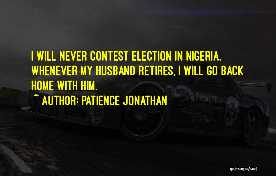 We Wish You Good Luck Quotes By Patience Jonathan