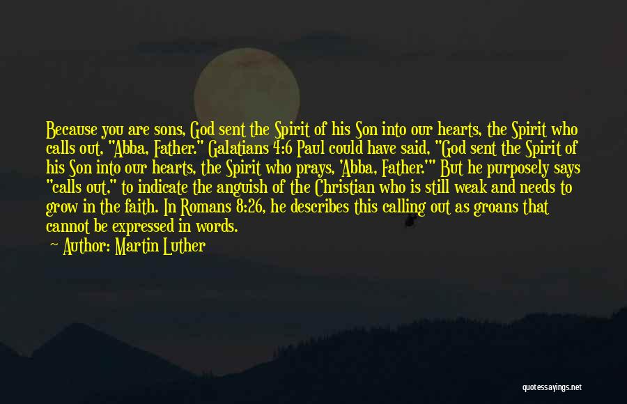 Weak Hearts Quotes By Martin Luther