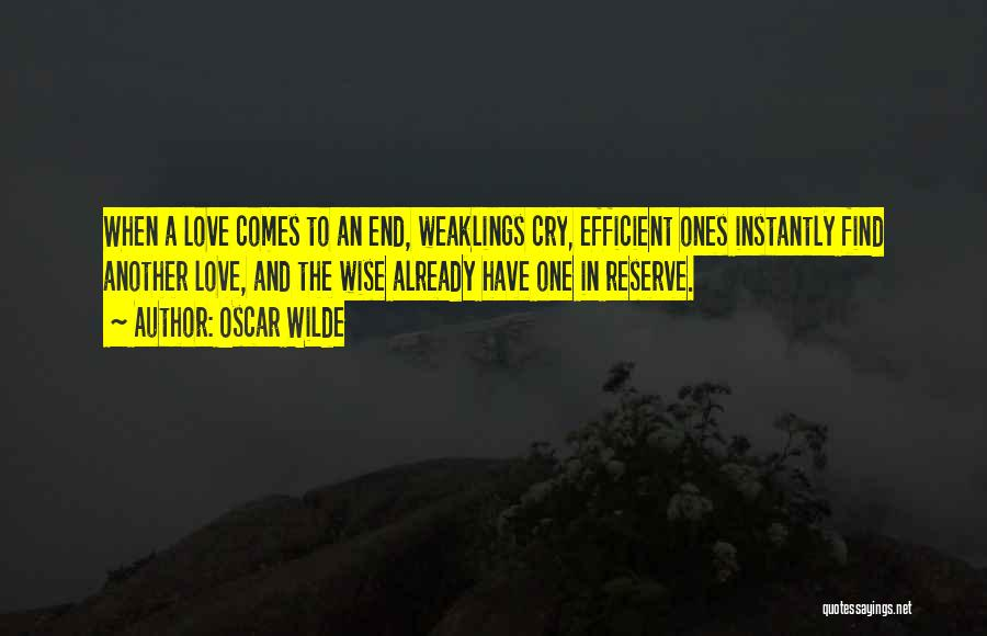Weaklings Cry Quotes By Oscar Wilde