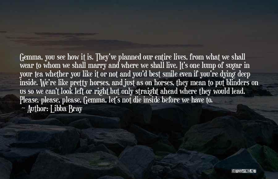 Wear Your Smile Quotes By Libba Bray