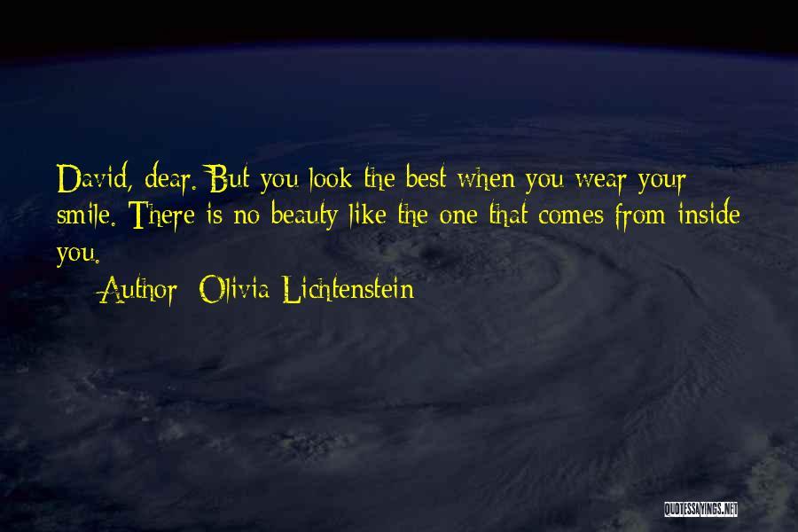 Wear Your Smile Quotes By Olivia Lichtenstein