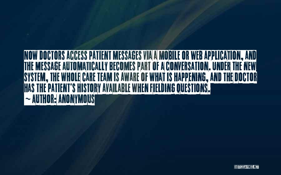 Web Application Quotes By Anonymous