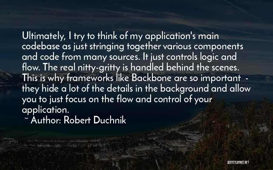 Web Application Quotes By Robert Duchnik