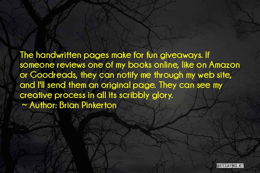Web Page Quotes By Brian Pinkerton