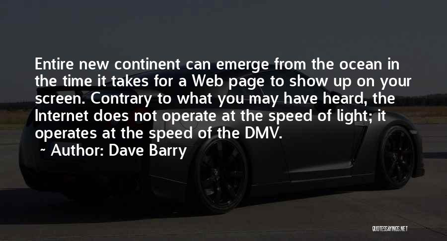 Web Page Quotes By Dave Barry