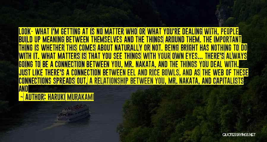 Web Page Quotes By Haruki Murakami