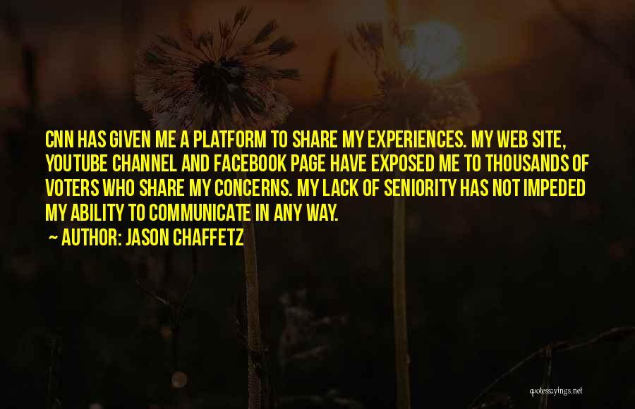 Web Page Quotes By Jason Chaffetz