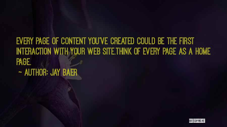 Web Page Quotes By Jay Baer