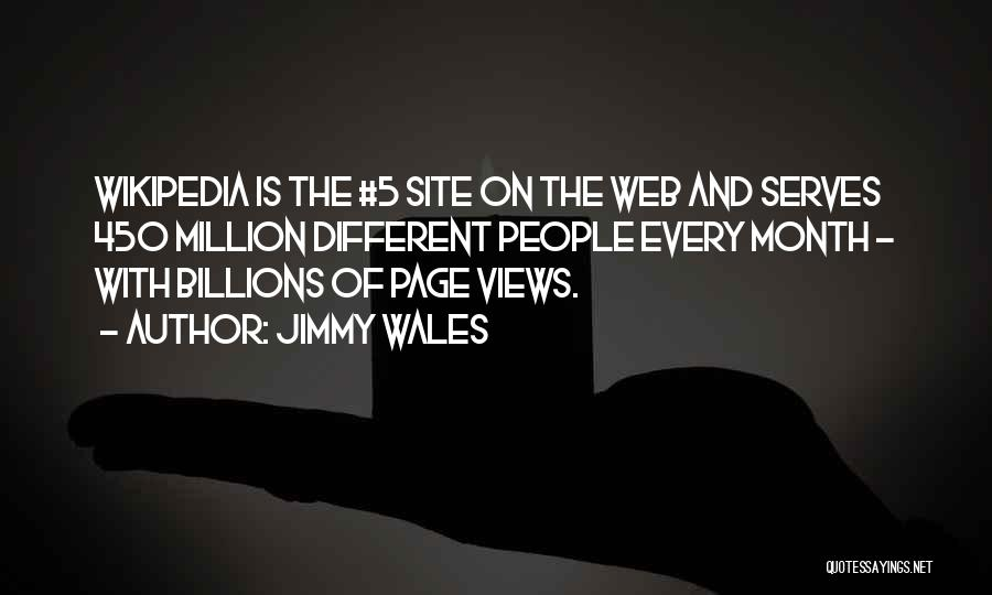 Web Page Quotes By Jimmy Wales
