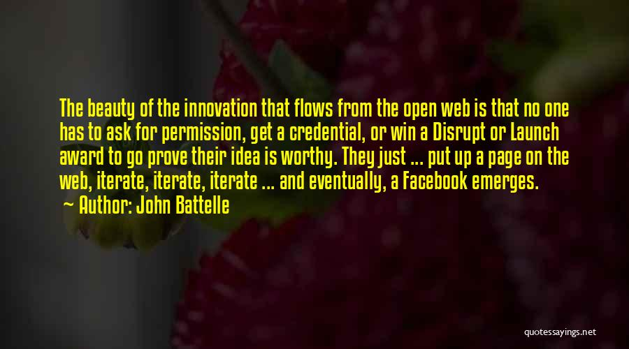 Web Page Quotes By John Battelle