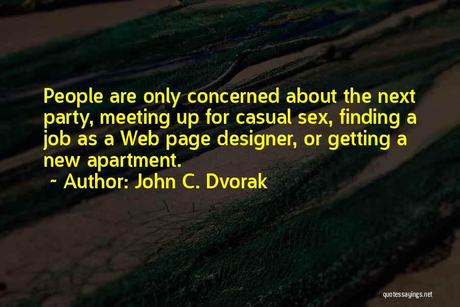 Web Page Quotes By John C. Dvorak