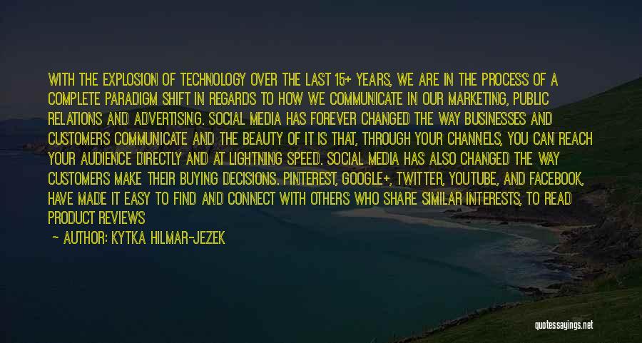 Web Page Quotes By Kytka Hilmar-Jezek