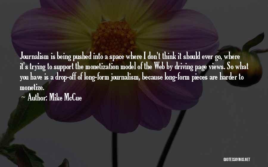 Web Page Quotes By Mike McCue