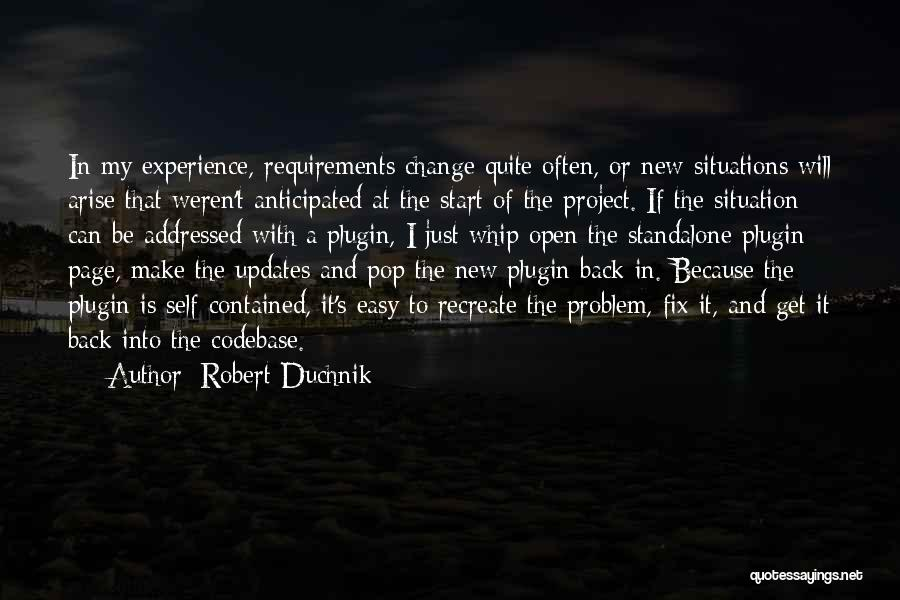 Web Page Quotes By Robert Duchnik