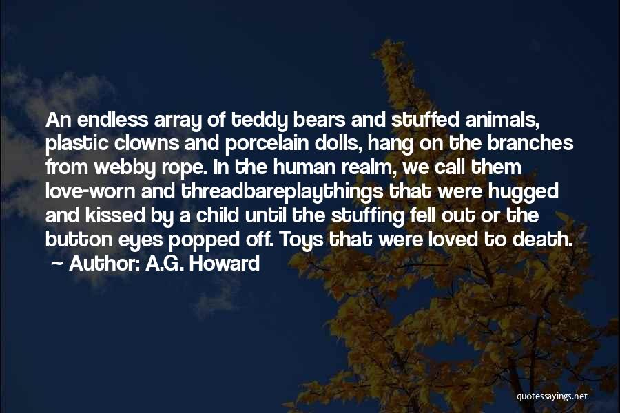 Webby Quotes By A.G. Howard