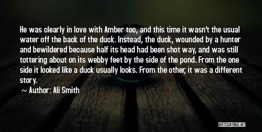 Webby Quotes By Ali Smith