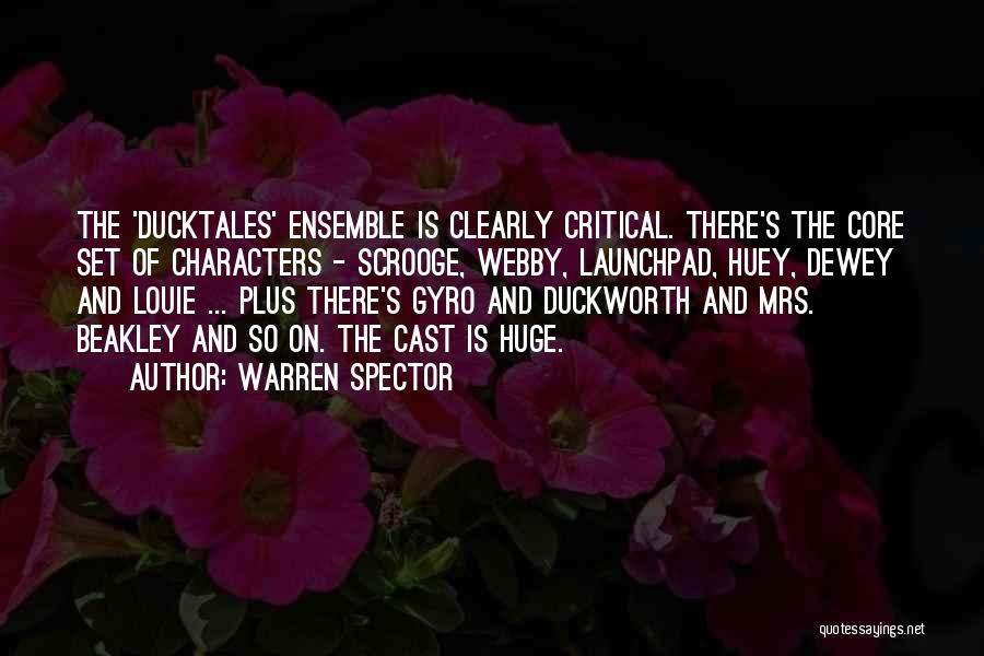 Webby Quotes By Warren Spector