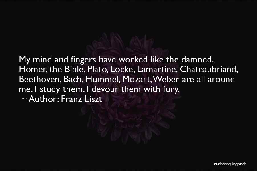 Weber Quotes By Franz Liszt