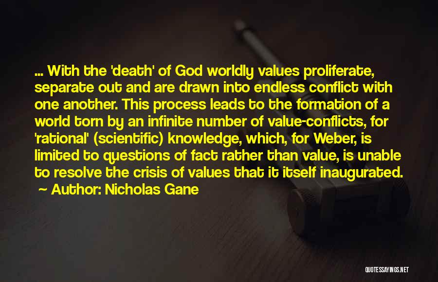 Weber Quotes By Nicholas Gane