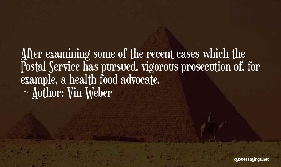 Weber Quotes By Vin Weber