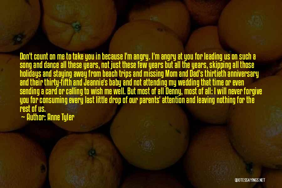 Wedding Anniversary Of Parents Quotes By Anne Tyler