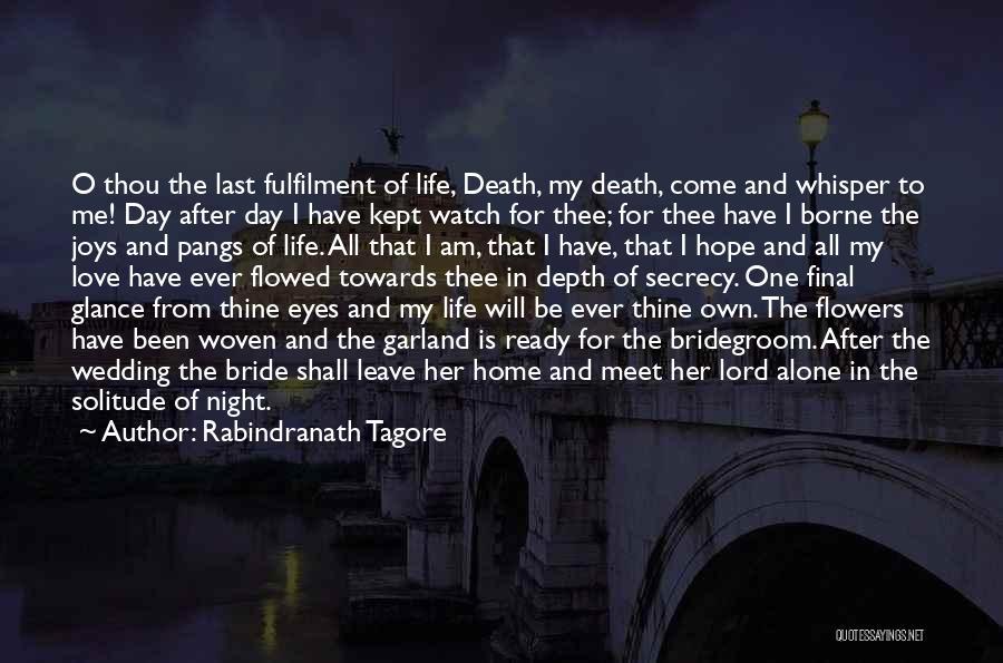 Wedding Garland Quotes By Rabindranath Tagore