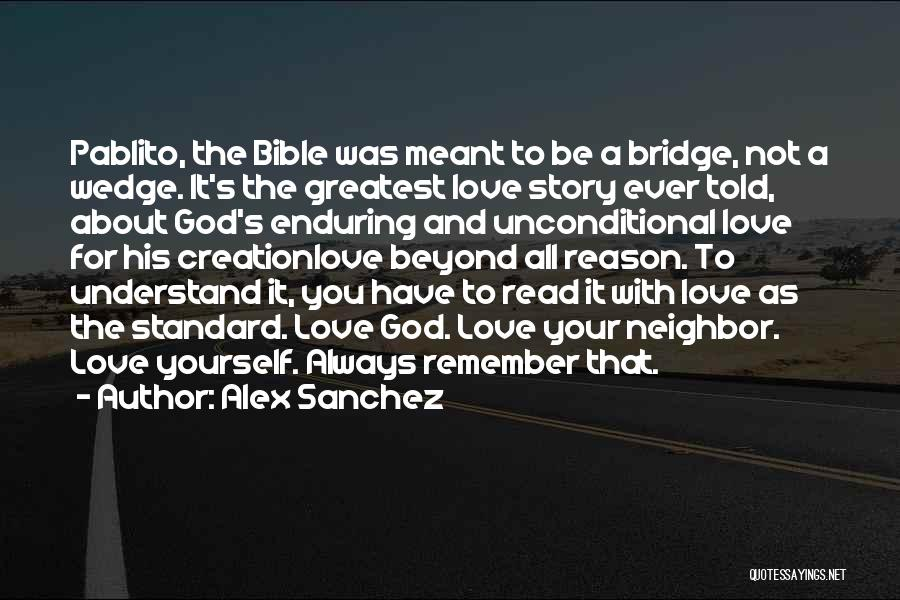 Wedge Quotes By Alex Sanchez