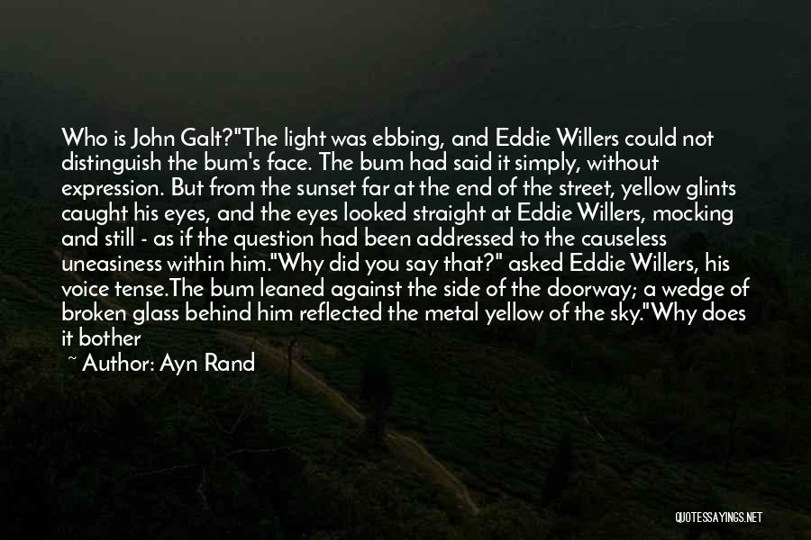 Wedge Quotes By Ayn Rand