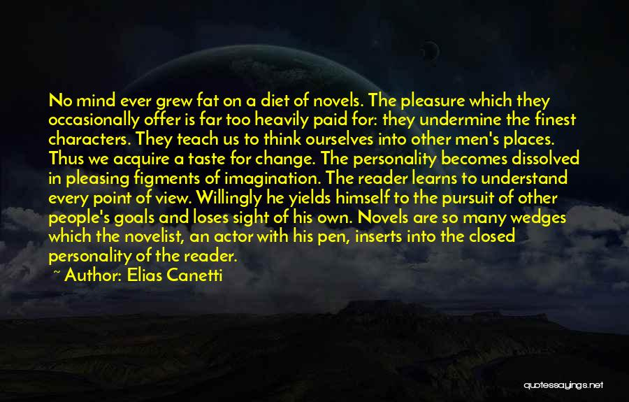 Wedge Quotes By Elias Canetti