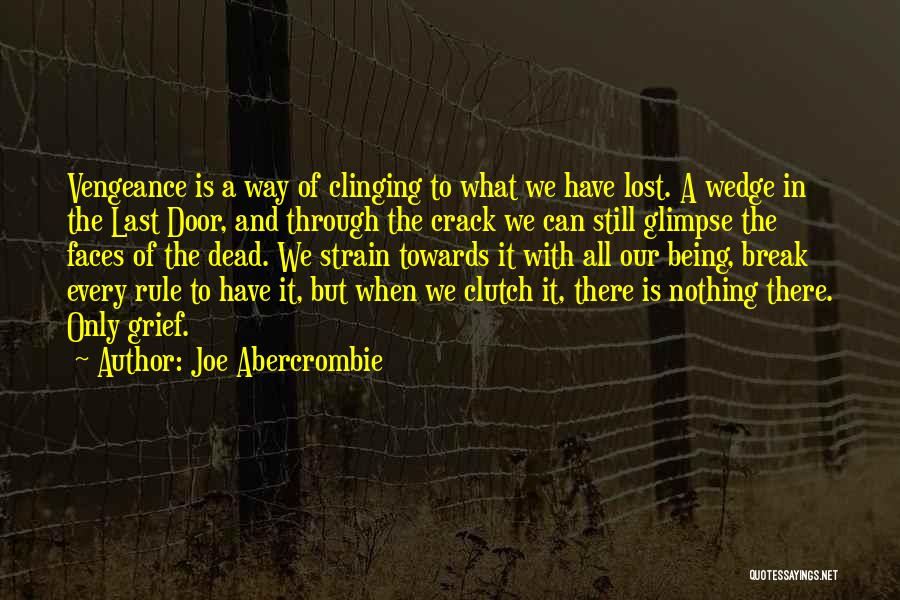 Wedge Quotes By Joe Abercrombie