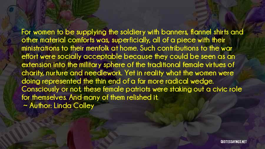Wedge Quotes By Linda Colley