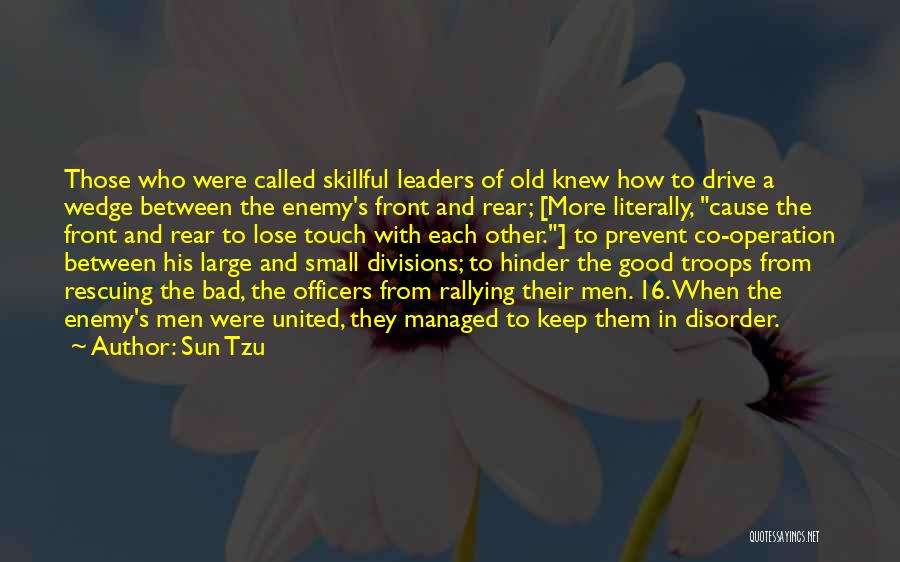Wedge Quotes By Sun Tzu